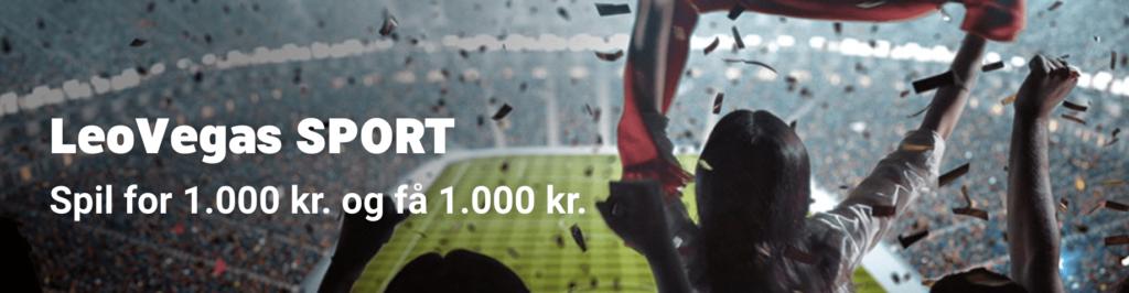 LeoVegas Sport Bonuskode